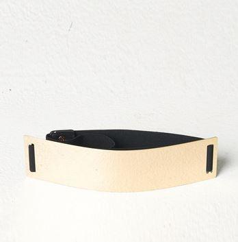 Publik Gold Metal Belt