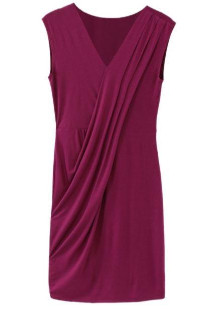Stitch Fix Review on JK Style: Dovette Draped Dress