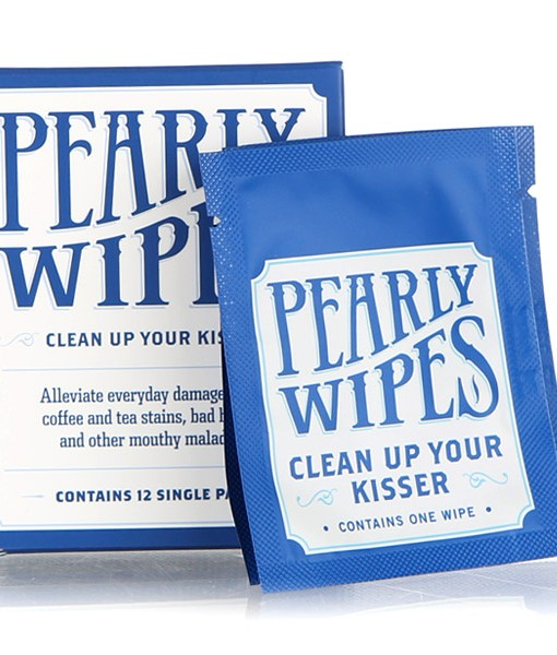 Borracha pearly wipes