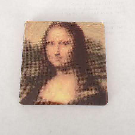 CMYK Coasters Mona Lisa