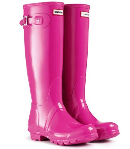 Lipstick Hunter Boots