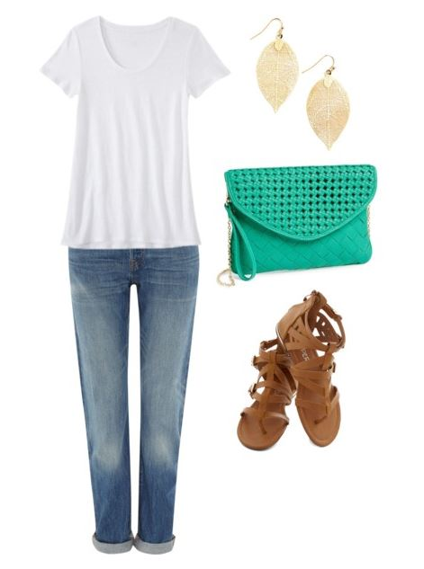 styling a white tee 1