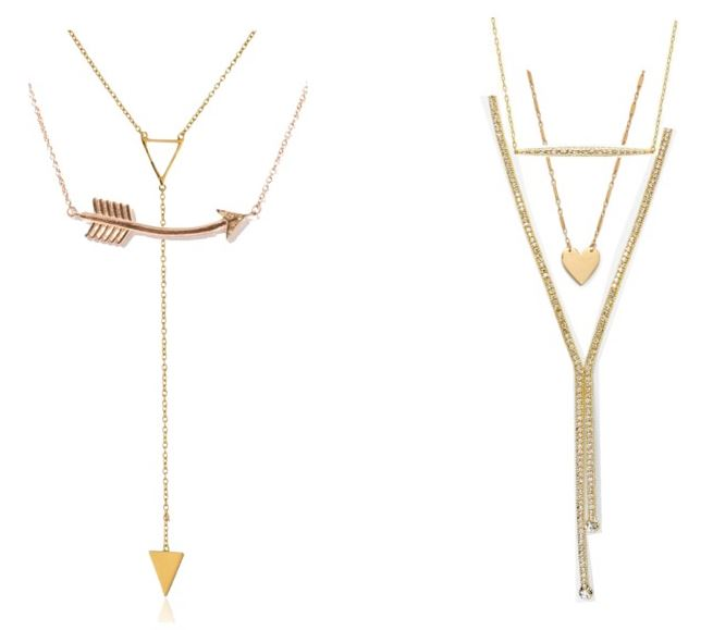 layering lariat necklaces