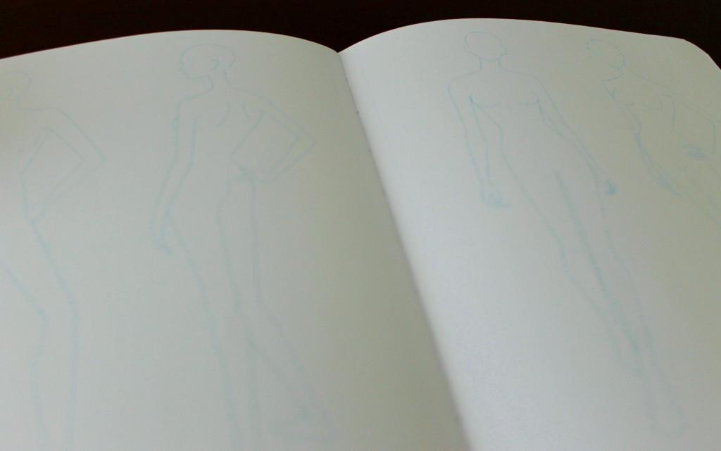 fashion sketchbook 2