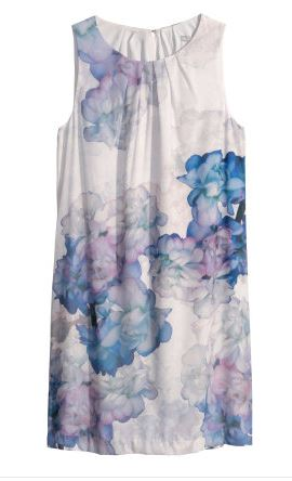 hm sleeveless floral dress