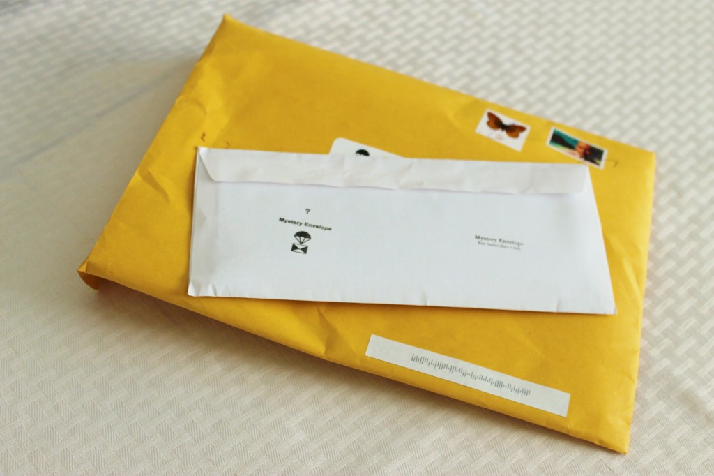The June and July Mystery Envelopes