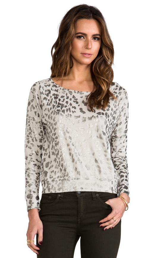 Revolve Current Elliott Letterman sweatshirt