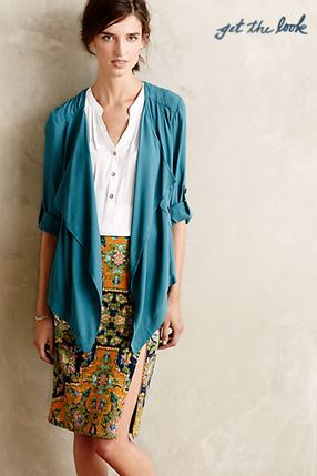 anthropologie eldora blazer
