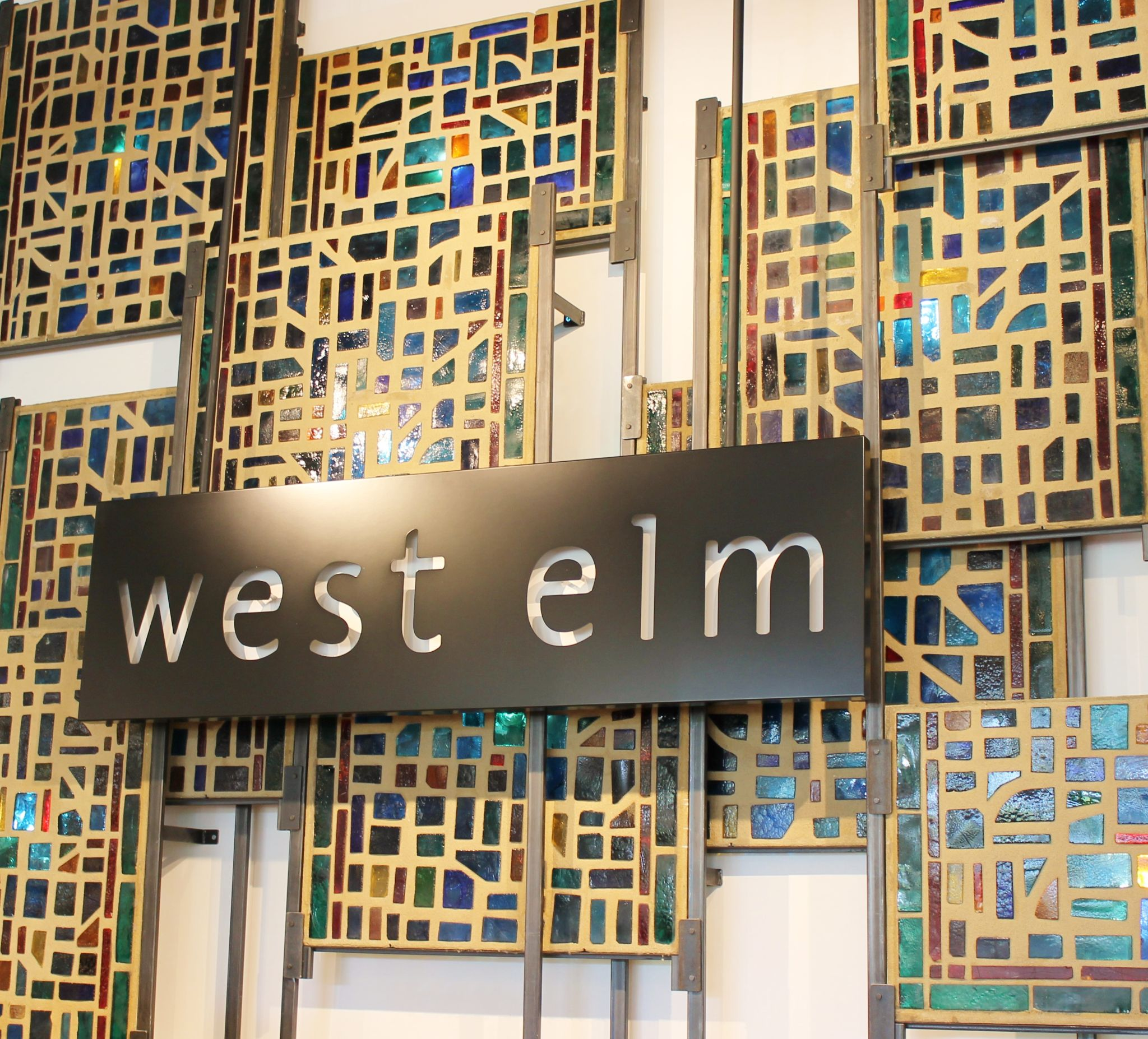 west elm sign