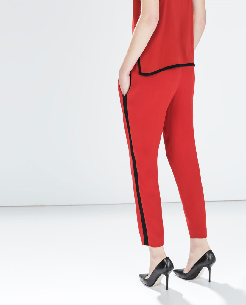 zara trouser and top
