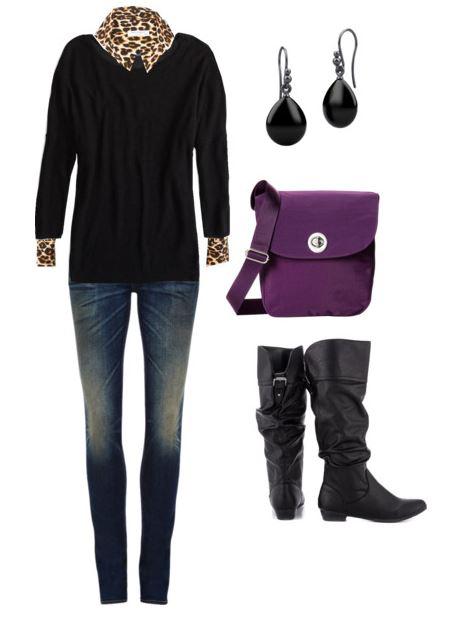 black sweater 1