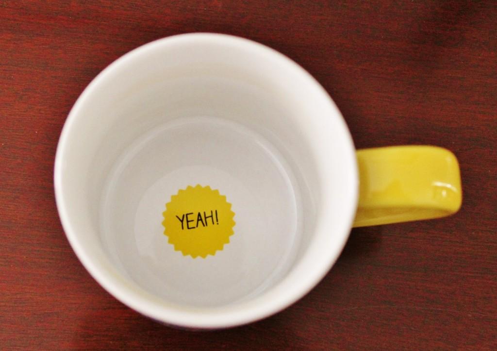 coco rocha fancy box happy days mug inside