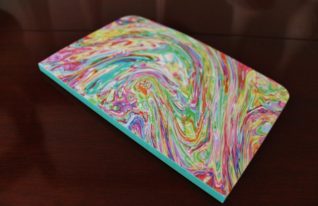 coco rocha fancy box ice cream swirl notebook
