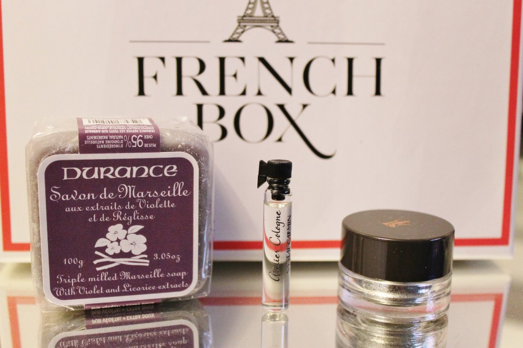 french box october soap perfume eye