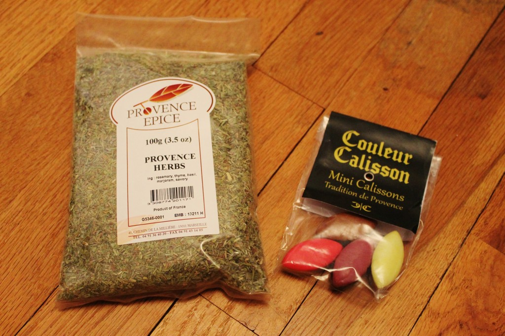 october french box herbs calissons