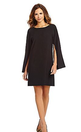 Gianni Bini Fan Fav Finley Split-Sleeve Dress