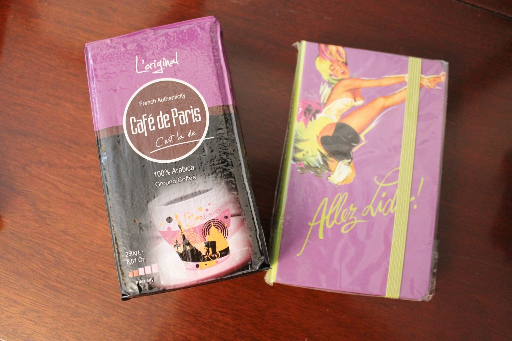 November French Box coffee notebook