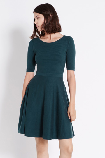 Oasis Ripple Stitch Dress