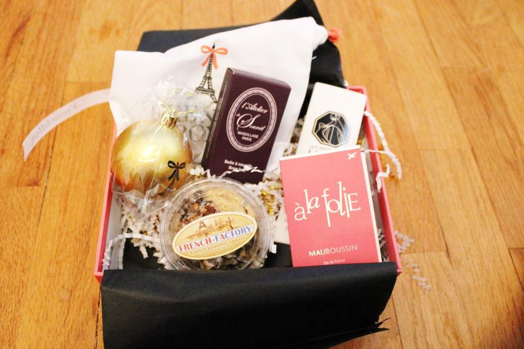 December 2014 French Box contents