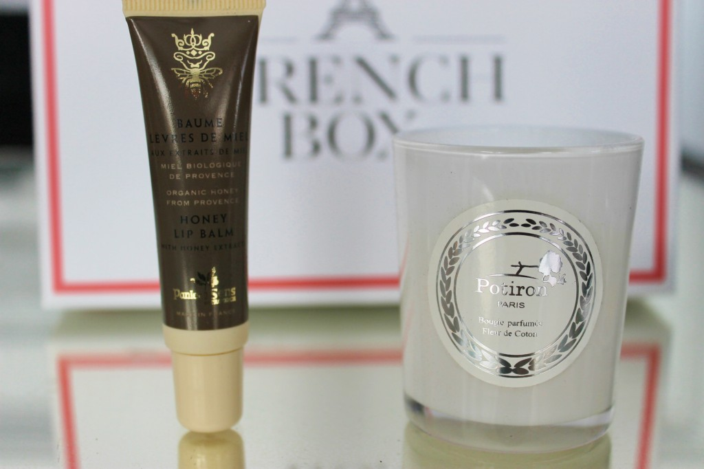 French Box Lip Balm Candle
