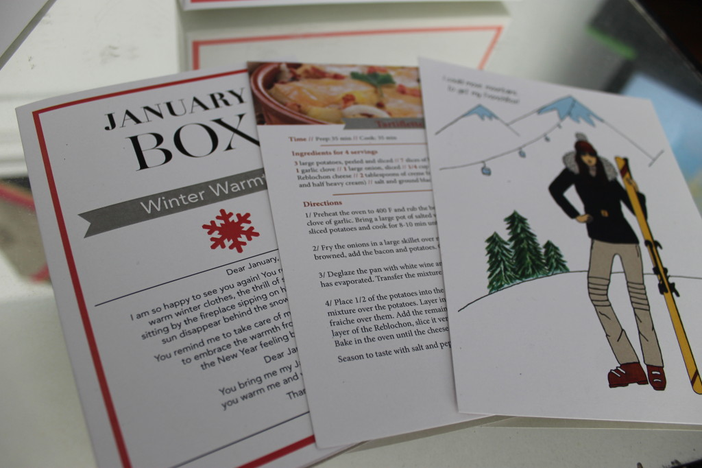 January French Box Cards