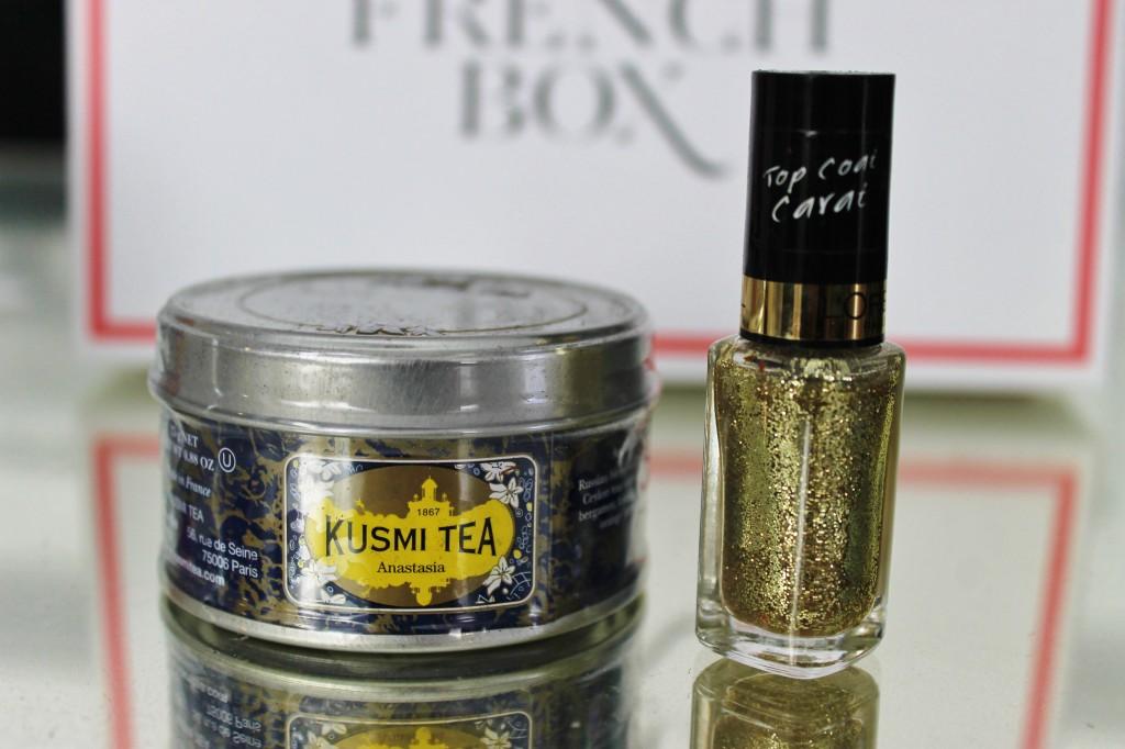 January French Box Tea and Nail Polish