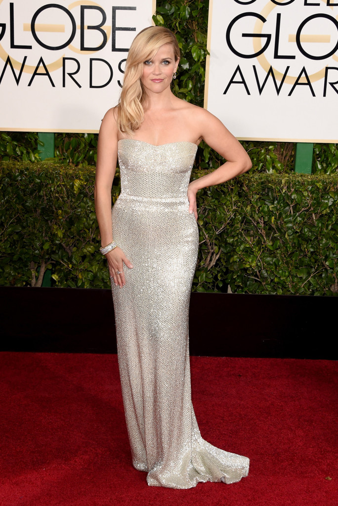 Reese Witherspoon in Calvin Klein Collection Golden Globes 2015