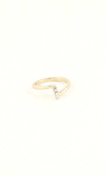Crystal Bar Ring, $8