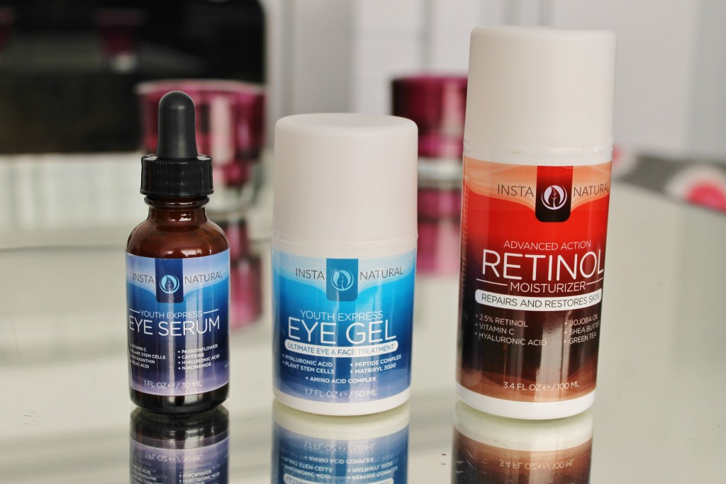 Insta Natural Eye Serum, Eye Gel, Retinol Moisturizer