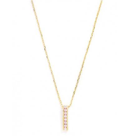 birthstone ladder necklace