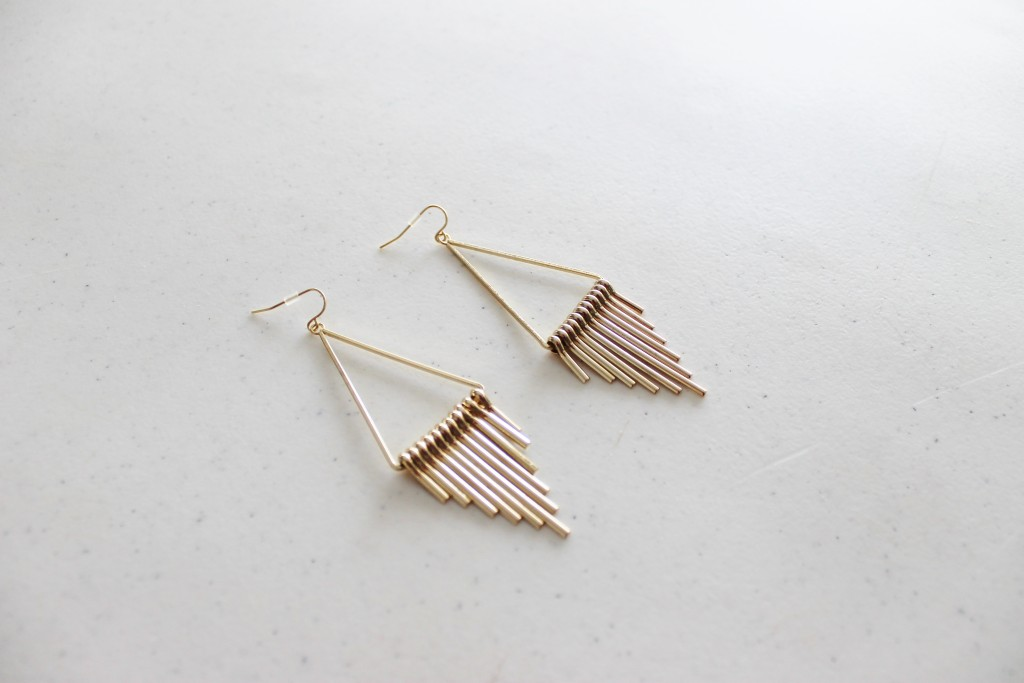 Nadine West Gold Earrings