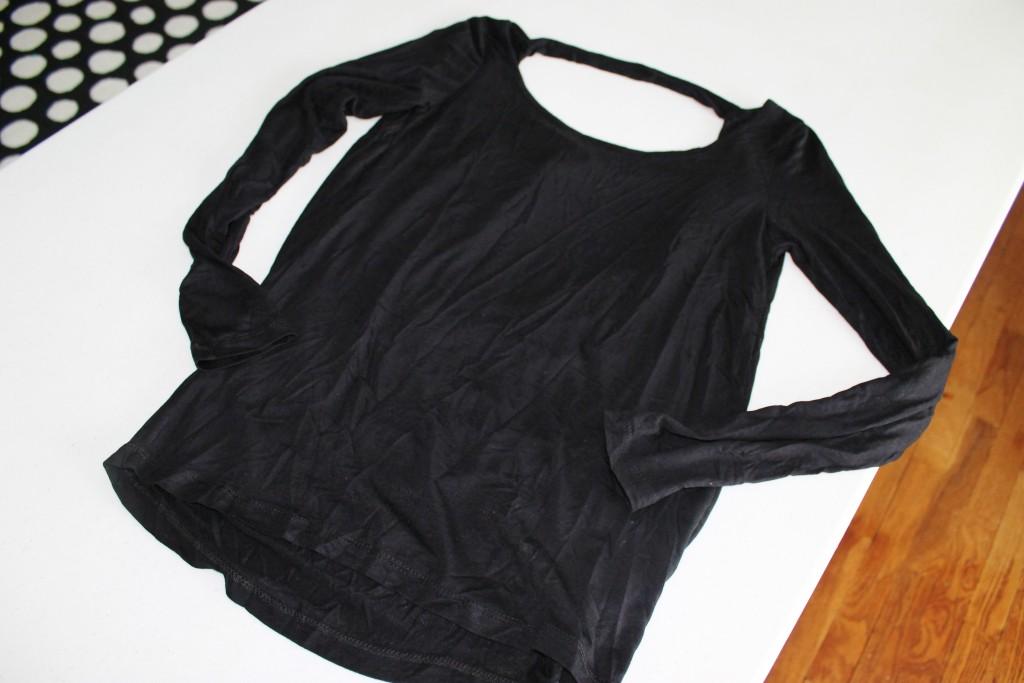 Nadine West black shirt