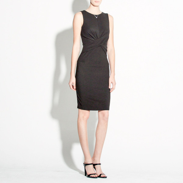 knot sheath dress