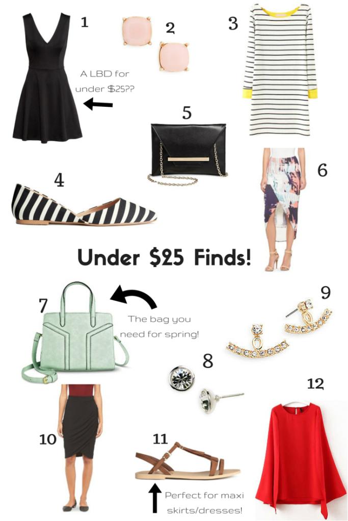 Under $25 Finds! (1)