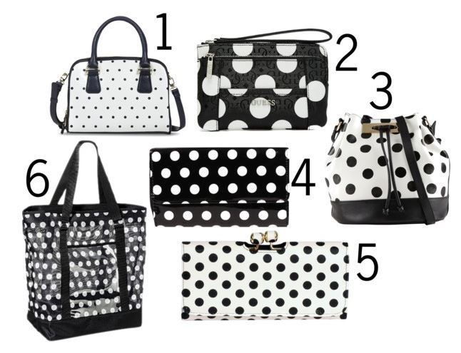 polka dot bags 1