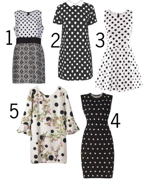 polka dot dresses 2