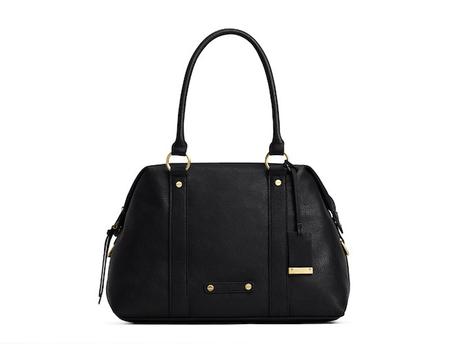 A-black-bag-with-handle
