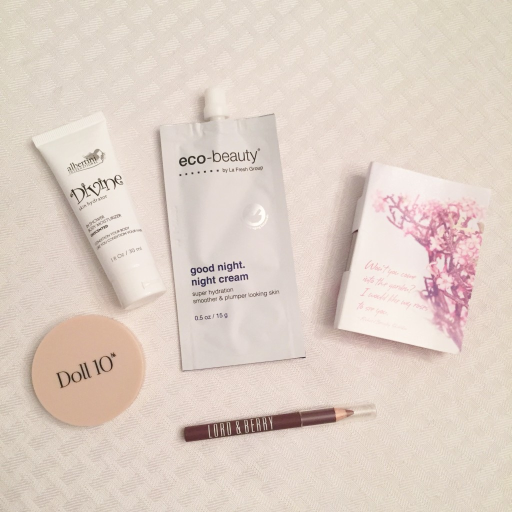 august ipsy glambag products 1