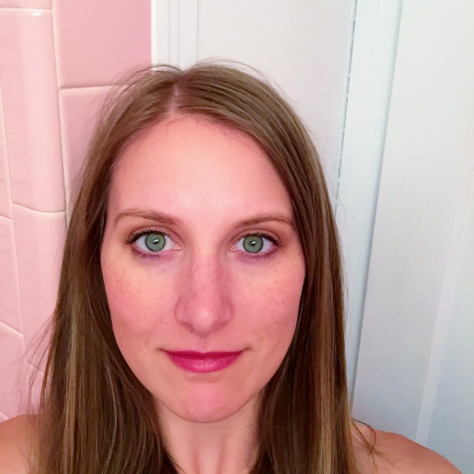 Lipsense Review on JK Style - Lipsense Fly Girl after initial application