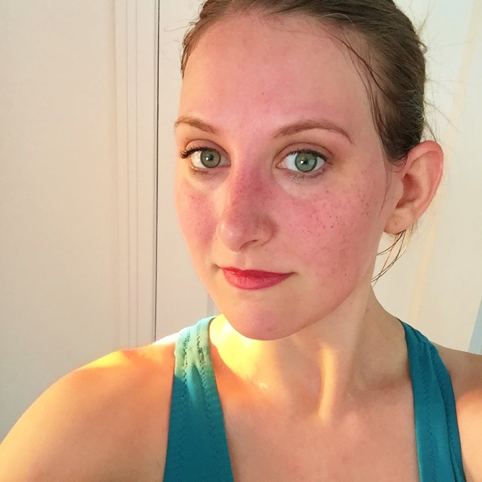 Lipsense Review on JK Style - Lipsense after full night of sleep and the morning after a run