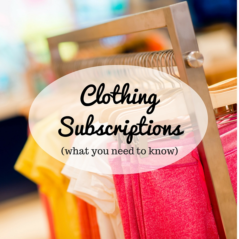 Clothing Subscriptions