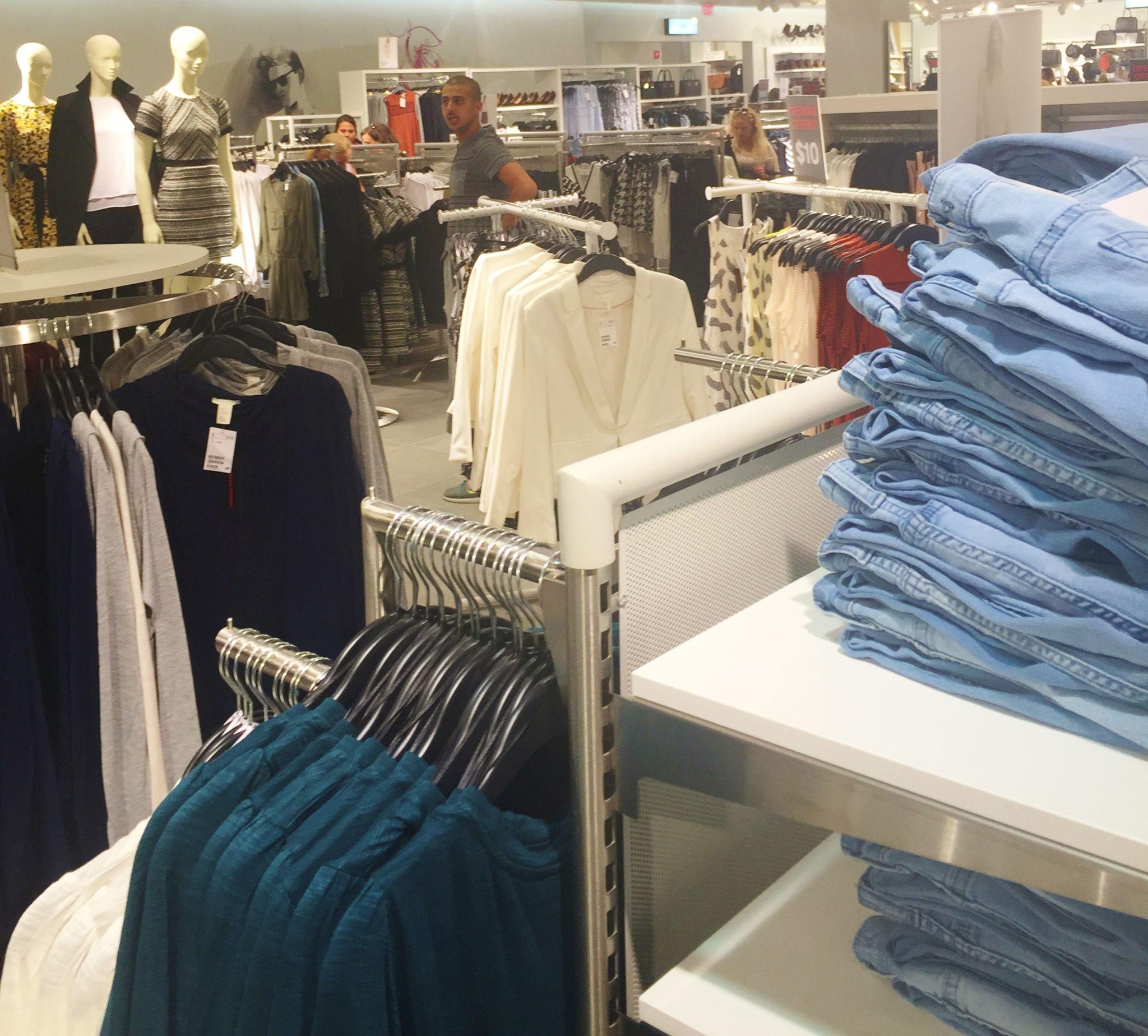 H&M OKC Grand Opening store