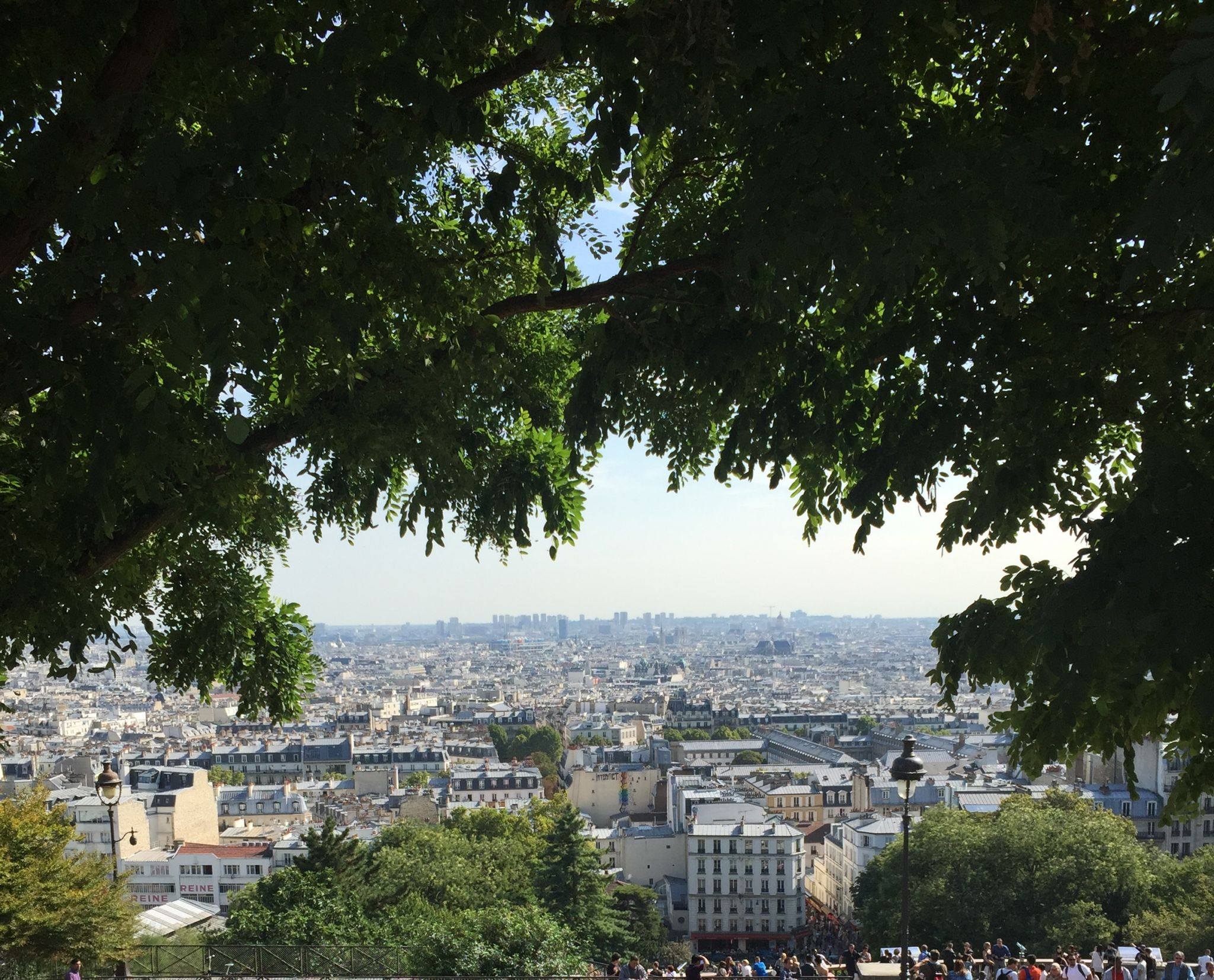 Paris highlights day 1 sacre couer view