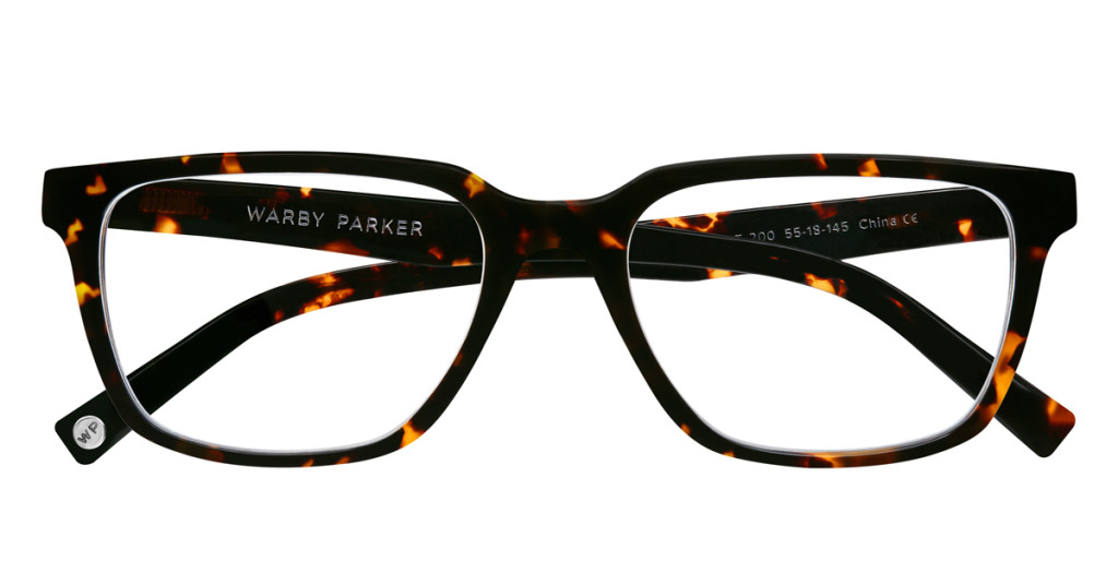 Warby-Parker_Gilbert_Whiskey-Tortoise_eyeglasses_topdown