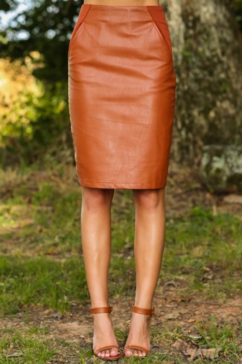haute to trot skirt - camel