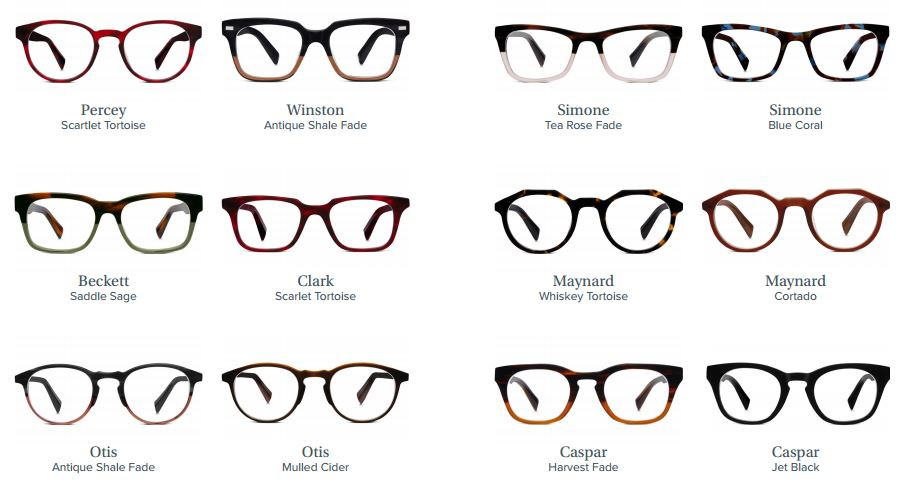 warby parker fall collection 2015