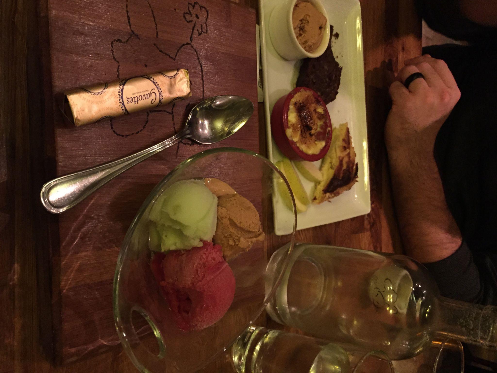 Sacree Fleur dessert Paris