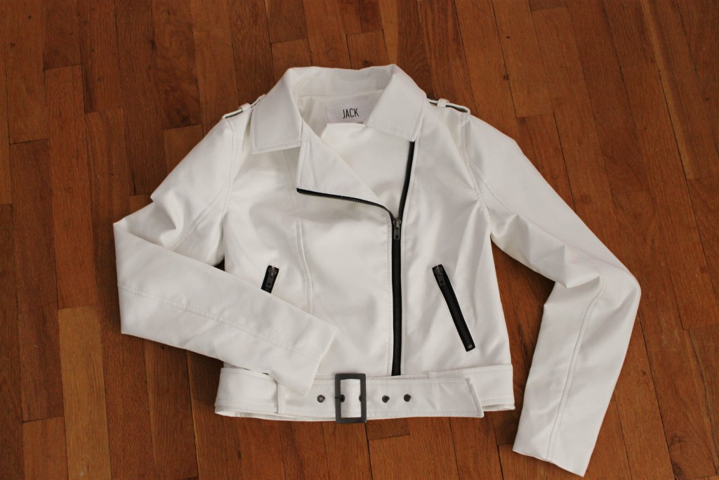 October Wantable Edit review Luna White Jacket