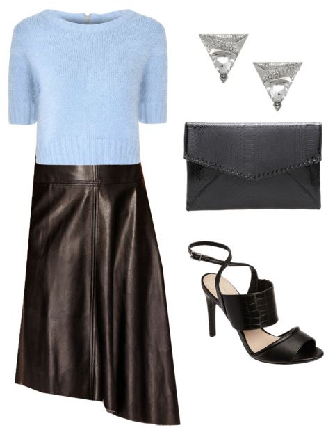 styling a leather skirt 2