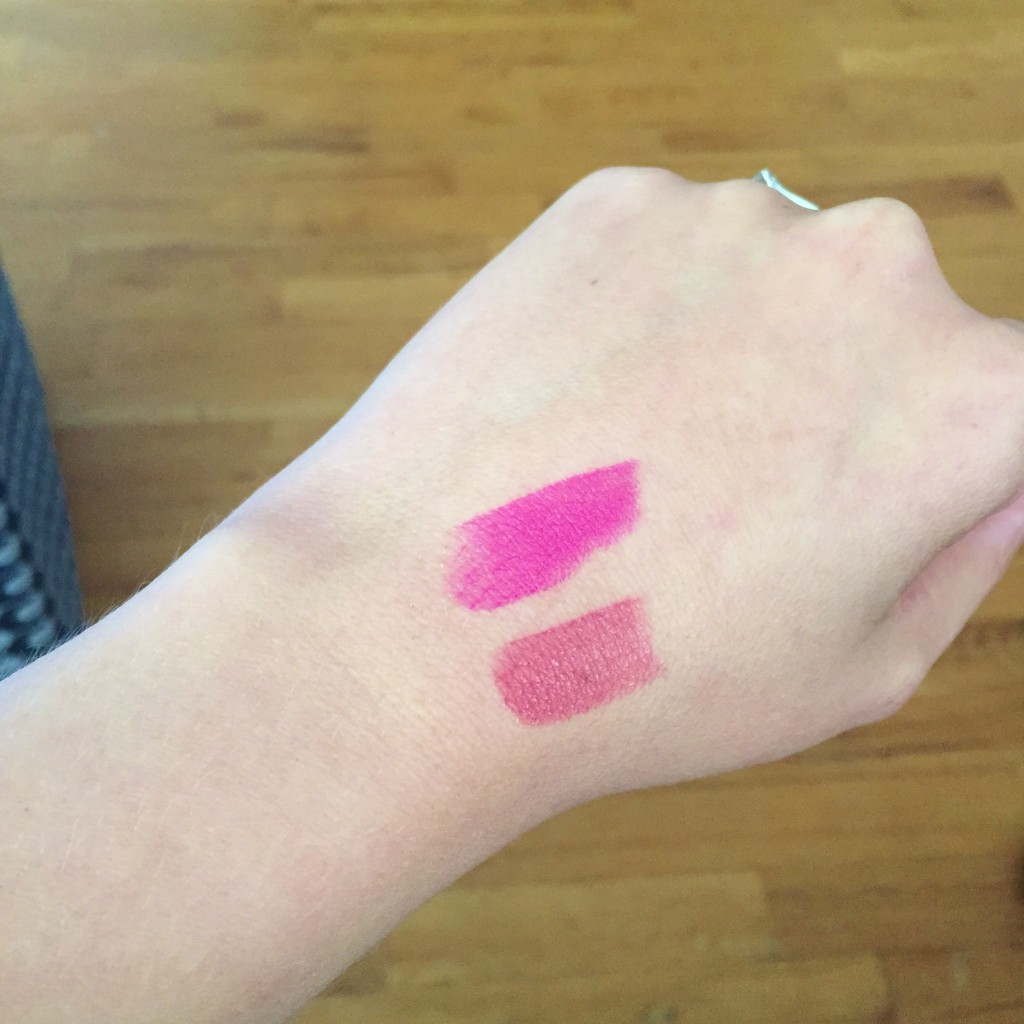 YSL rouge pur couture swatches